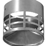 Deflector salida tubo