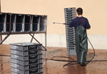 Lavadora cajas manual INCORRECTO 1